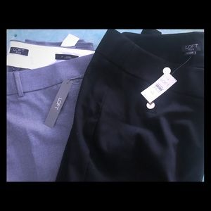 2 Loft plus size work pants (NWT)